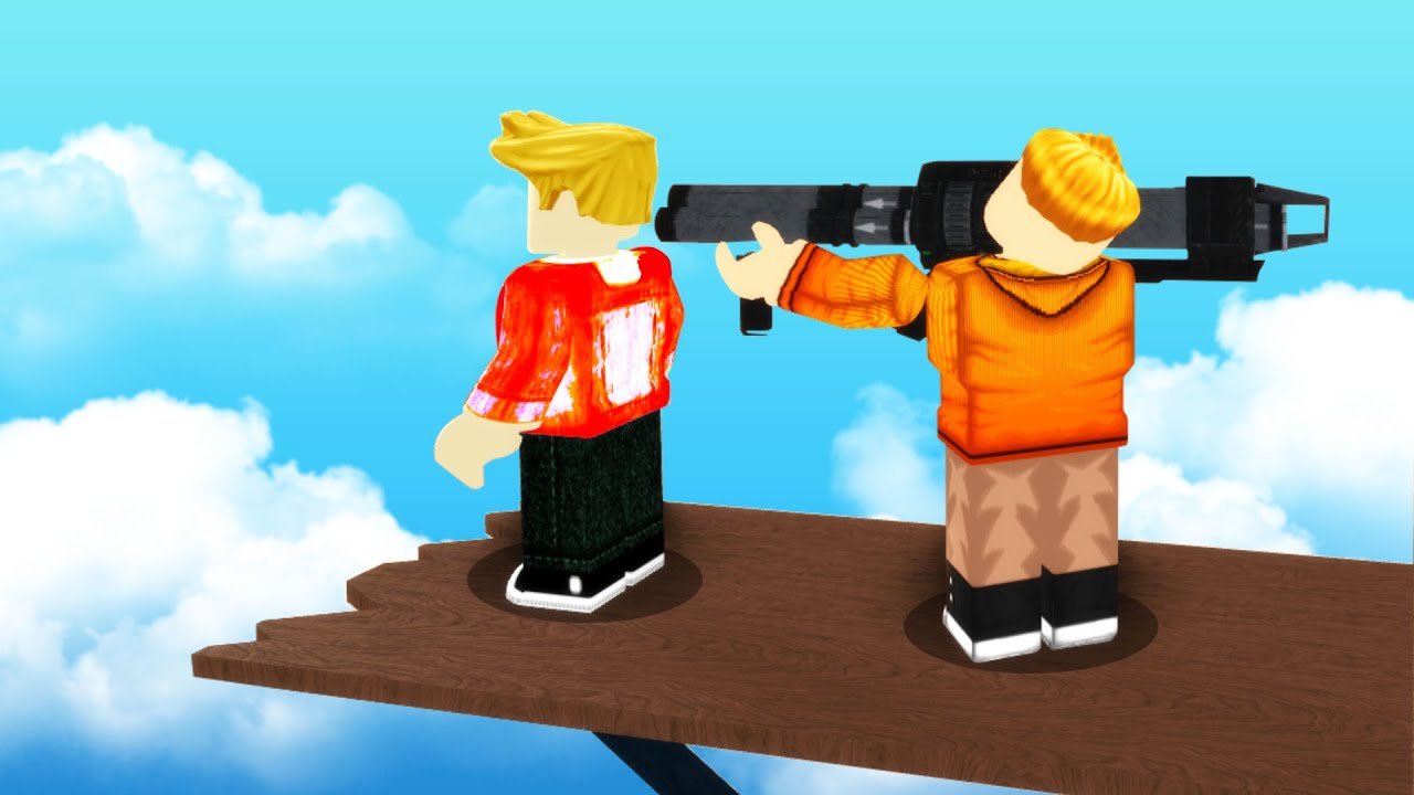 Roblox Ragdolls But With Big Guns Youtube