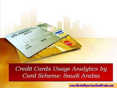 Credit Cards Usage Analytics by Card Scheme: Saudi Arabia