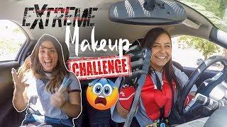 Extreme Makeup Challenge: Drifting Edition (1)  أقوى تحدّي... تطبيق المكياج خلال التفحيط بالسيارة