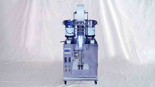 4 bowls counting filling bagging machine fully automatic tablets pills counter packaging 膠囊藥片包裝機多盤