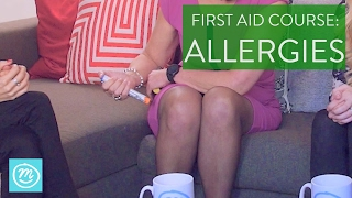 How To Treat Allergies | St John Ambulance & Channel Mum | First Aid Course