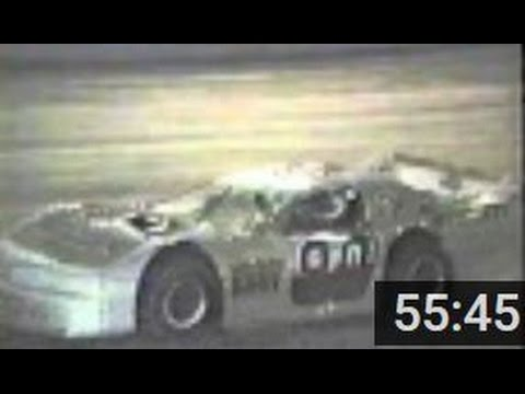 1993 Beckley Motor Speedway Late Model Feature Ernie Davis wins, Joe Meadows 2nd - Motorsports Park