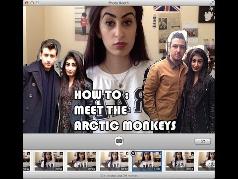 How To: Meet the Arctic Monkeys