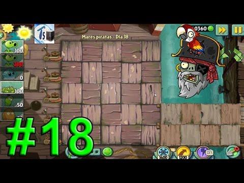Plants Vs Zombies 2, Mares Piratas Día 18