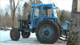 Belarus MTZ-82 restoration project. Part 7 | New Cab