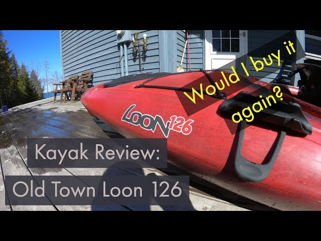 Old Town Loon 126 Kayak Review