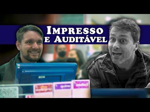 IMPRESSO E AUDITÁVEL