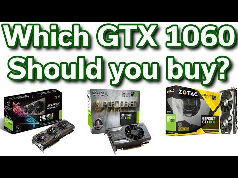 Which GTX 1060 Should you buy? - ASUS vs Zotac vs EVGA