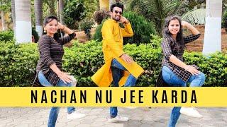 Nachan Nu Jee Karda - Angrezi Medium | Bhangra Dance Cover | MoveItLike Varsha | Ft. Naveen, Harika