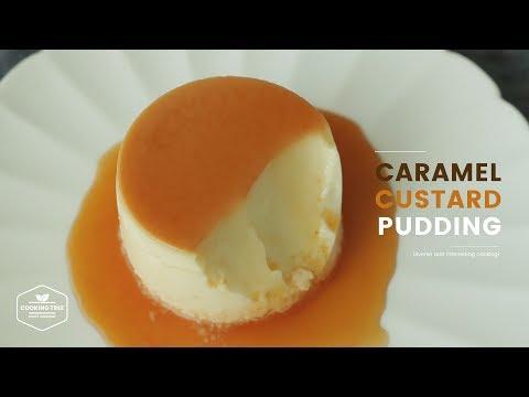 카라멜 커스터드 푸딩 만들기🍮 : Caramel Custard Pudding Recipe : カラメルカスタードプディング   Cooking Tree