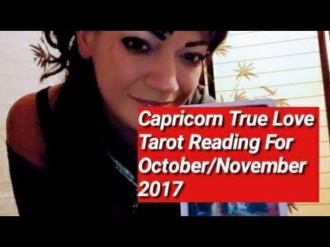 Capricorn True Love Tarot Reading For October/November 2017