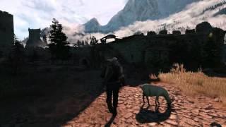 Witcher 3 - Каэр Морхен - Сундук на стене