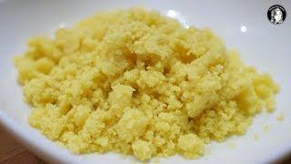 Gambar cover Homemade Khoya Recipe With Milk Powder - Instant Khoya/Mawa Recipe - Kitchen With Amna