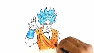 How to Draw Goku from Dragon Ball Z