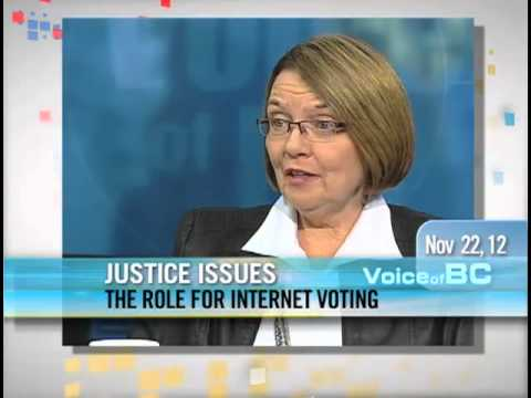 Shirley Bond - Internet Voting In BC
