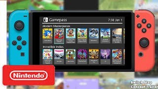 Introducing Nintendo Switch GamePass Service! (Nintendo Switch Subscription Based Concept Trailer) thumbnail
