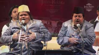 Live Qawwali Performance I Sabri Brothers & Group I Jashn-e-rekhta 2016