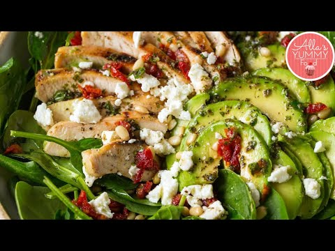 Delicious Avocado Chicken Salad!