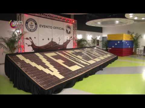 Chocolate venezolano consigue nuevo récord Guinness