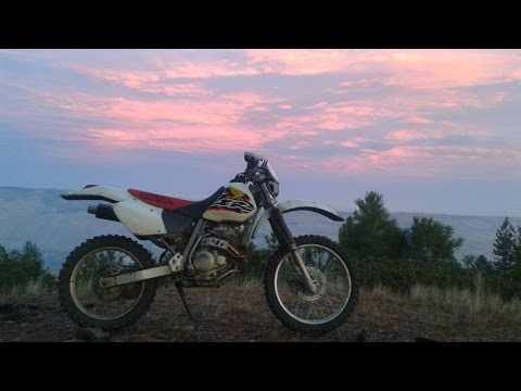 My XR250R: Review Mods and General Info