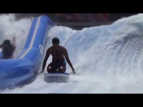 Yas Waterworld Pipeline & Ferrari World