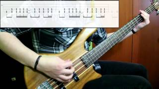 Tool - Forty Six & 2 (Bass Only) (Play Along Tabs In Video)