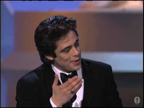Download Youtube: Benicio Del Toro winning Best Supporting Actor