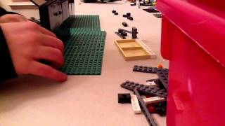 Lego How To Make A Sliding Gate