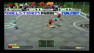 Puma Street Soccer Playstation Gameplay