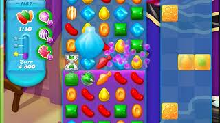 Candy Crush Soda Saga Level 1187 No Boosters
