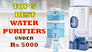Top 5 Best Water Purifiers - Under Rs 5000   Reviews & Features   2018 [Hindi]