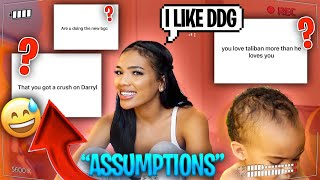 WILL I BE APART BAD GIRLS CLUB REUNION???  **ASSUMPTIONS ABOUT ME**