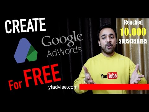 How To Create Free Google Adwords Professional Account