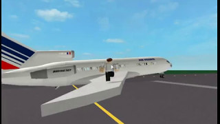 Air france 727 Crash with airbus / Planes (beta) / ROBLOX