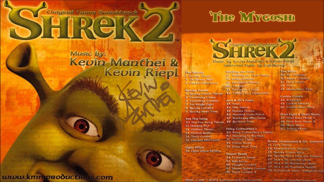 Shrek 2 Game Soundtrack 01 The Swamp Swamp Theme Youtube
