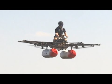 eVTOL News video, Episode 1: Kitty Hawk Flyer Demo