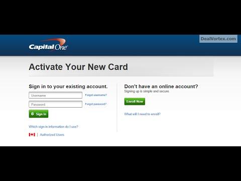 capital one platinum credit card activation тинькофф заявка на кредитную