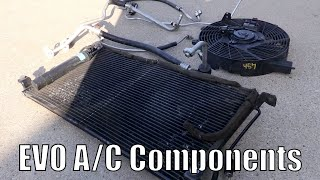 EVO 8 Air Conditioning Install - Boosted Films How to video