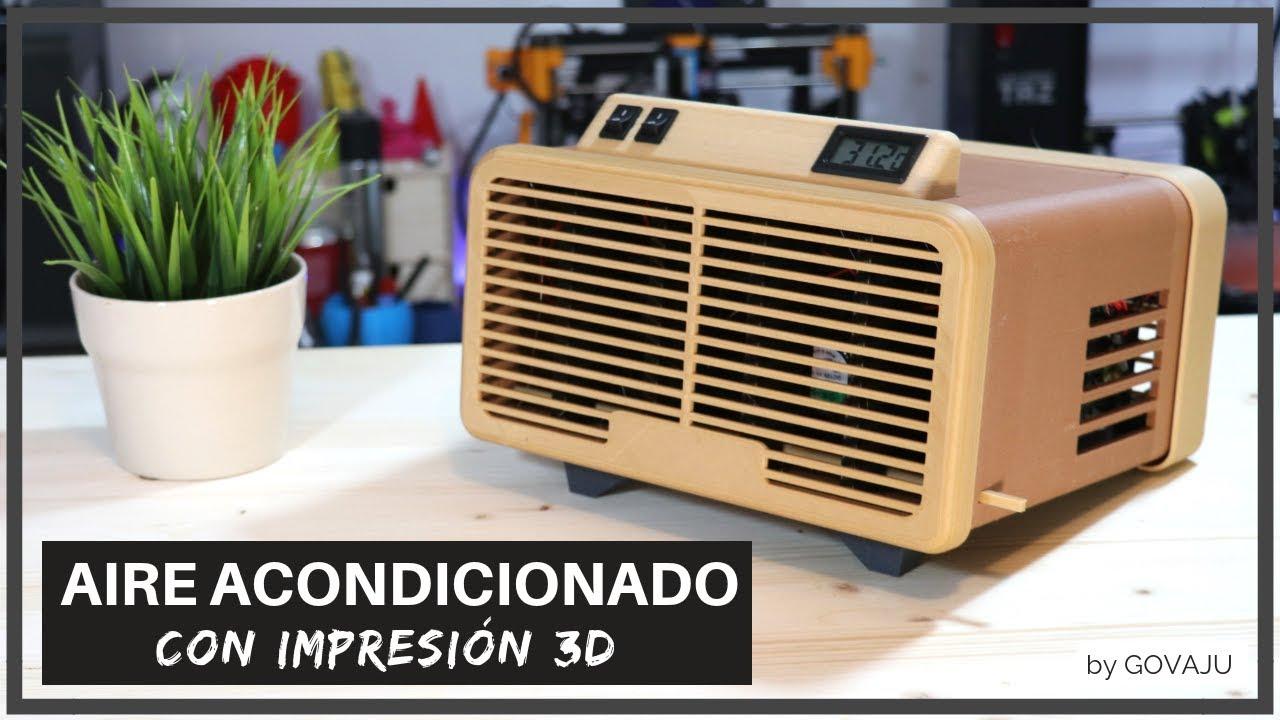 Aire Acondicionado Con Impresi N 3d Dise O