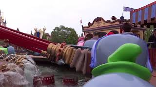 04 Dumbo the flying Elephant onride at Disneyland Paris