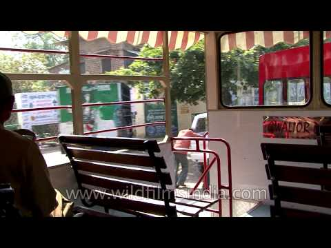 Tour the city of Gwalior on a Tempo van