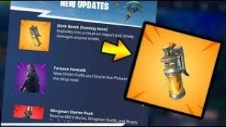 RLS Glitcheur - Fortnite Batlle Royale - New grenade
