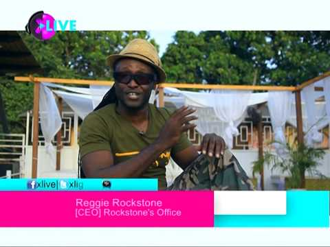 Reggie Rockstone -  (Hiplife Grand Papa) on XLIVE TV (Epsiode 1)