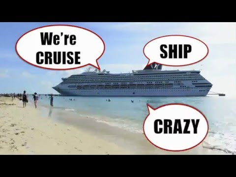 CRUISE SHIP CRAZY  The Cruising THEME SONG Lyric Video