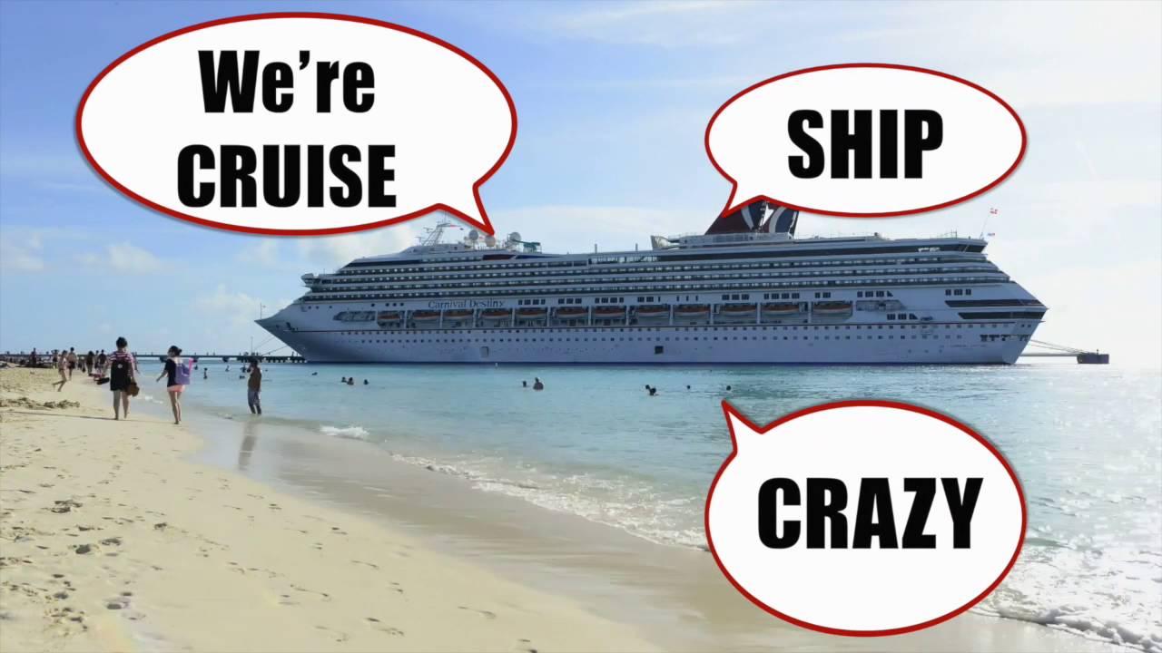 CRUISE SHIP CRAZY The Cruising THEME SONG Lyric Video YouTube - Best cruise ship songs