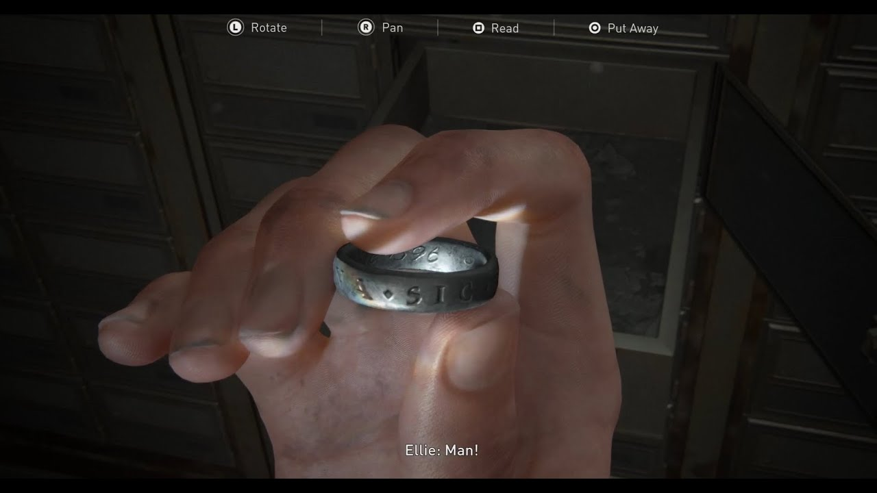 Where To Find The Engraved Ring In The Last Of Us Part II (So Great And Small Trophy)