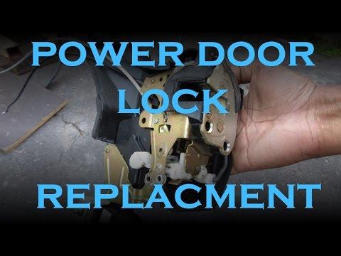 How To Replace Power Door Lock Actuator 88 03 Ford Expl Doovi