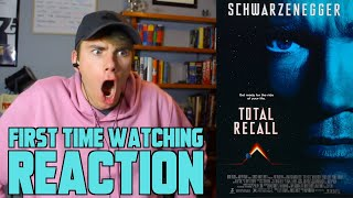 Total Recall (1990) - MOVIE REACTION - FIRST TIME WATCHING