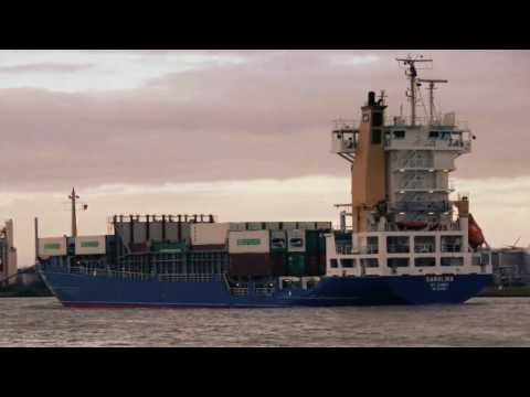 Ship m.v carolina my  last vessel sailing
