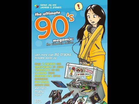 90s Dance Video Mix - Over 150 Tracks! by DJ Samus Jay